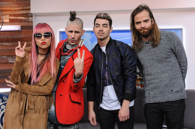 New Photos: DNCE on The Social!