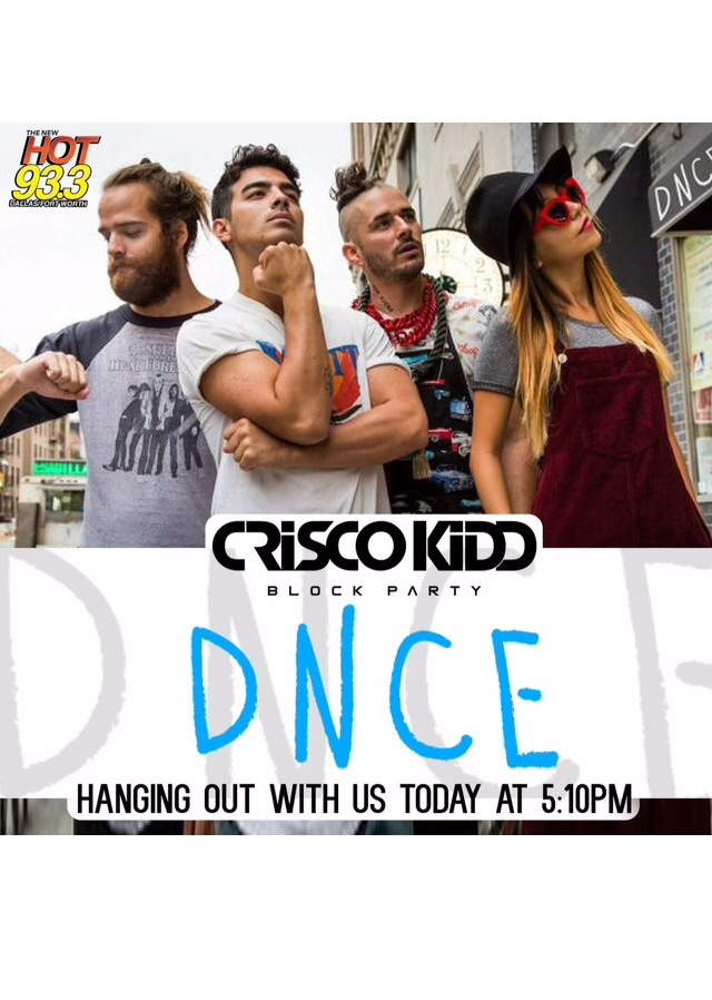 New Audio: DNCE Interview With Hot 93.3