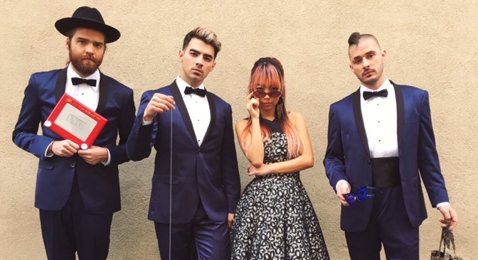 New Photos: DNCE Backstage At Grease Live