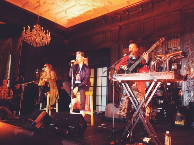 New Photos: DNCE performing at Concert In A Castle