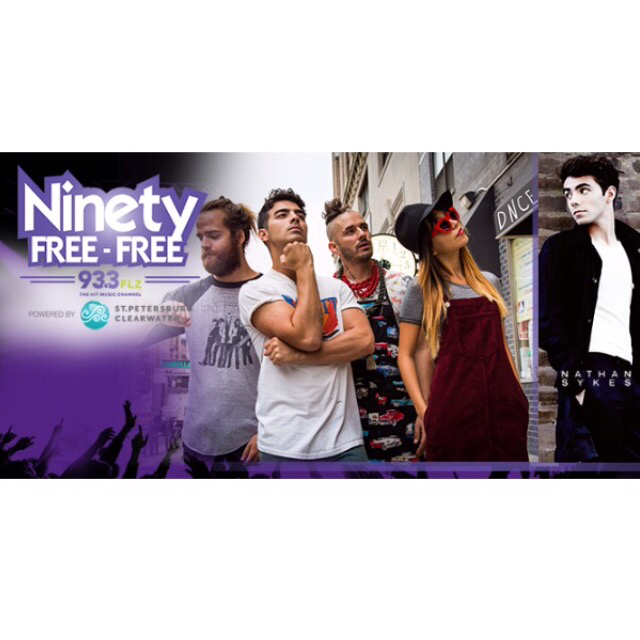 DNCE to perform at Ninety Free Free