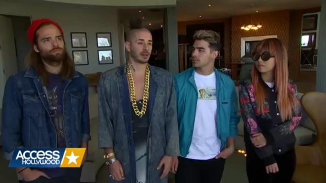 New Video: DNCE On When They Realized Grease Live Would Be A Success