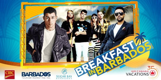 New Event: Breakfast In Barbados