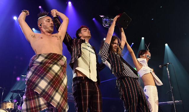 New Photos: DNCE Performing At Tinder Ball
