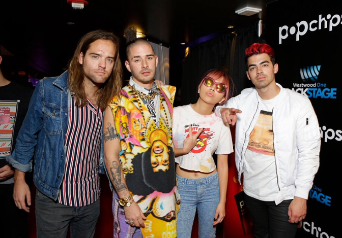New Photos: DNCE at The Grammy Rehearsals!