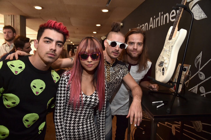 New Photos: DNCE At Lucian Grainge's Artist Showcase