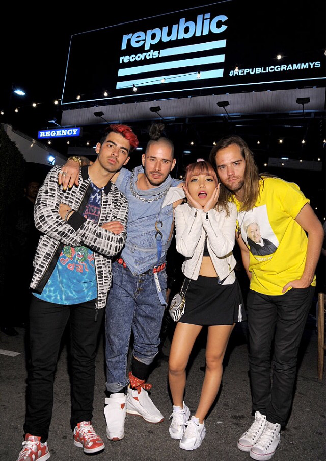 DNCE At The Republic Records Grammy After party