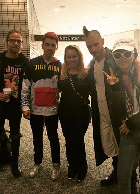 DNCE At Tampa International Airport
