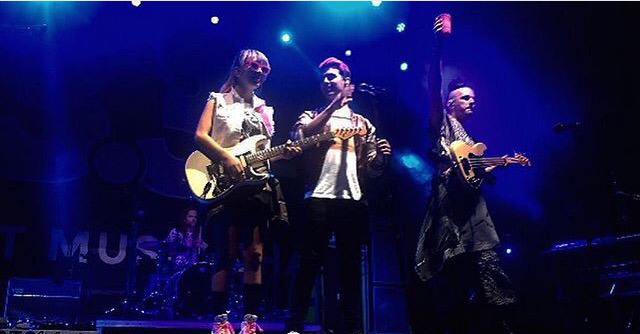 New Photos: DNCE Performing At 90FreeFree