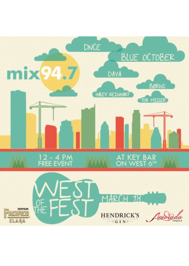 DNCE To Perform At West Of The Fest – SXSW Party