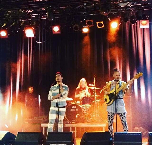DNCE performing at Parkteatret