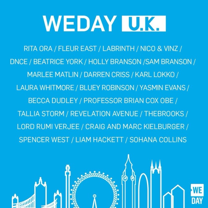 DNCE To Perform At We Day UK
