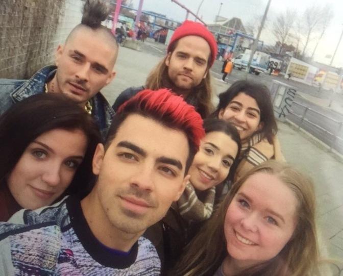 DNCE Meeting Fans In Berlin
