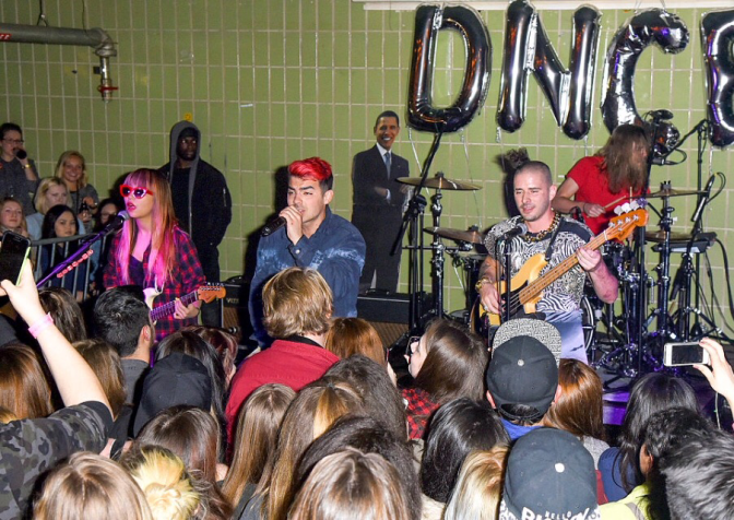 DNCE performing in Berlin, Germany