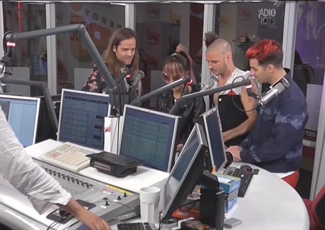DNCE's Interview With NRJ Sweden