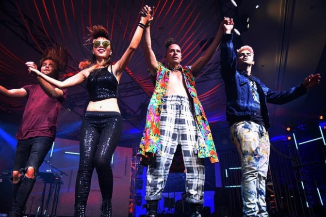 DNCE Performing At Music Is Universal