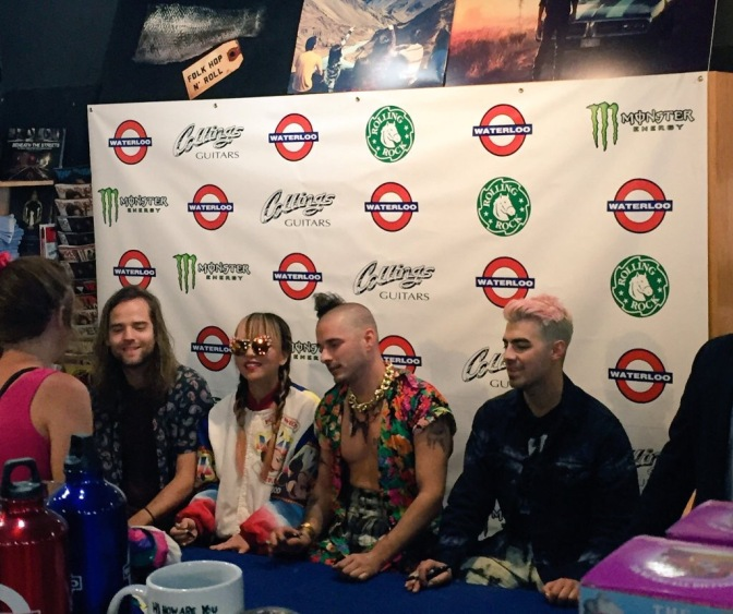 DNCE Meet And Greet At Waterloo Records