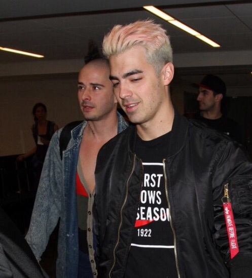Joe and Cole at LAX