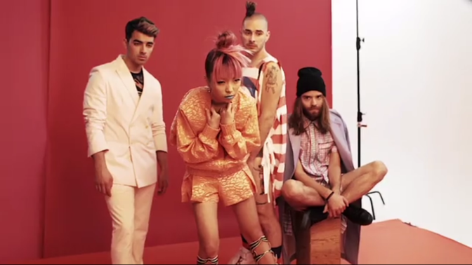Behind The Scenes Of DNCE's Schon! Magazine Photoshoot