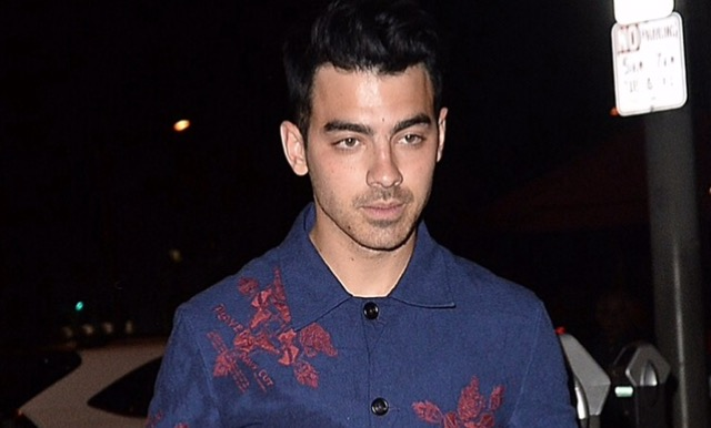 Joe Jonas At Craig's Resturant