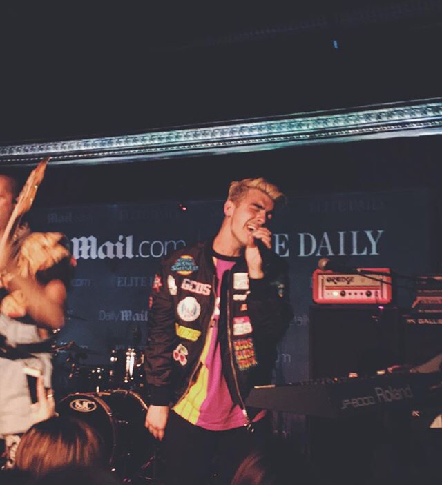 DNCE Performing At Daily Mail Party