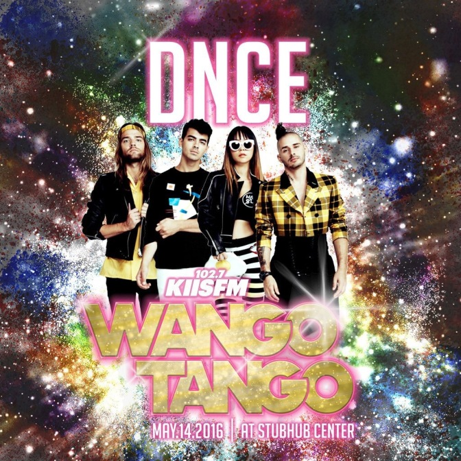 DNCE To Perform at Wango Tango