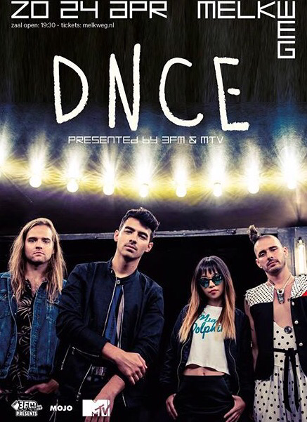 DNCE To Perform In Amsterdam