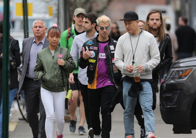 DNCE Out In New York