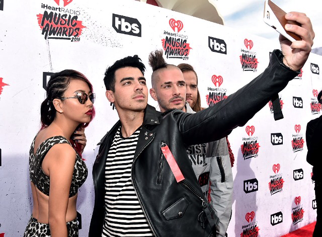 DNCE Walking The Red Carpet At The iHeartRadio Music Awards
