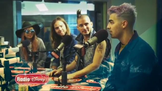 DNCE Talking to Radio Disney