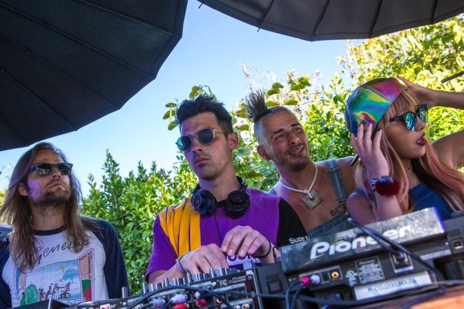 DNCE DJing At #WHHSH Pool Party