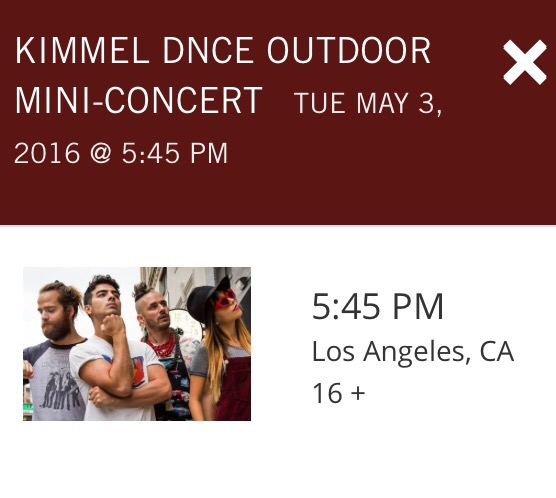 DNCE Set to Perform on Jimmy Kimmel Live