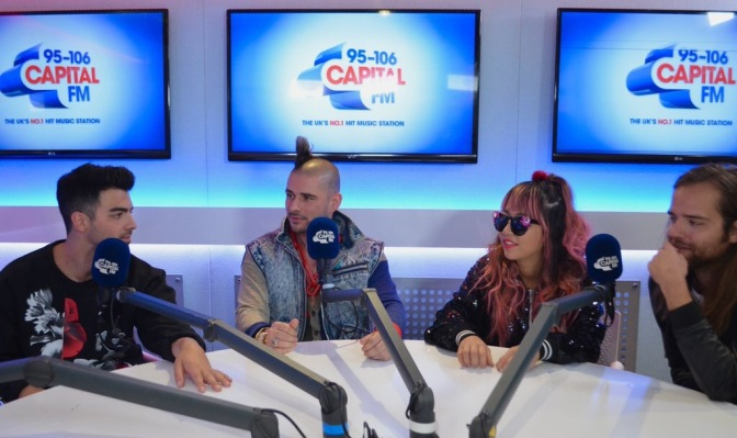 DNCE Talking to Capital Breakfast