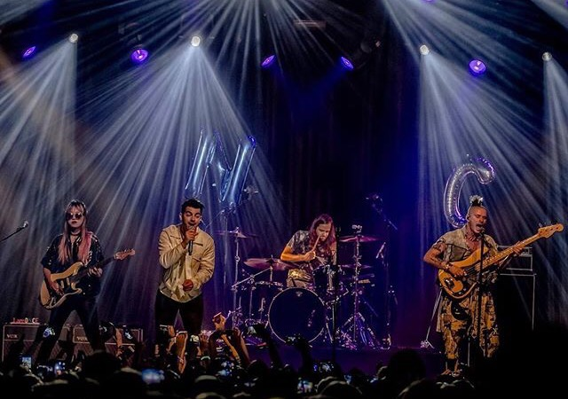 DNCE Performing in Amsterdam