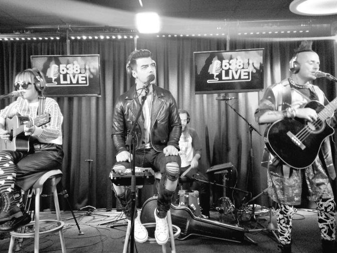 DNCE Performing at Radio 538