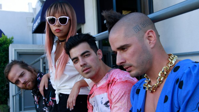 DNCE for the Los Angeles Times