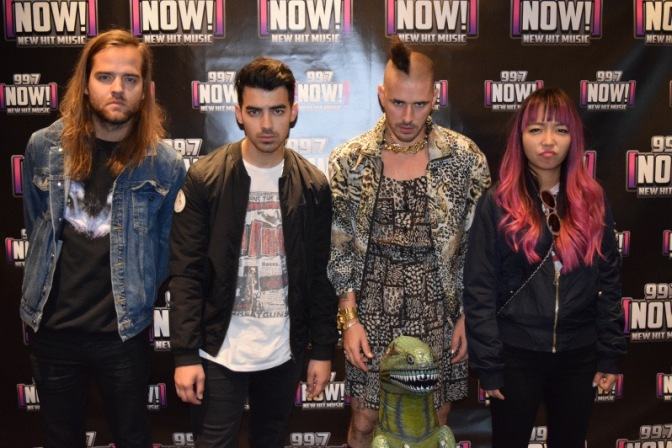 DNCE at 99.7 NOW!