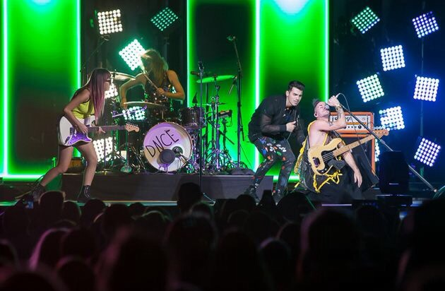 DNCE Performing in Seattle