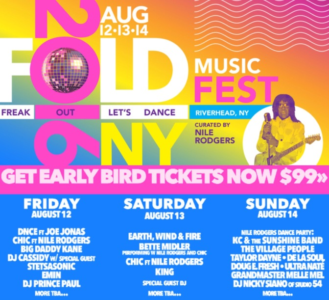 DNCE Set to Perform at the Fold Festival