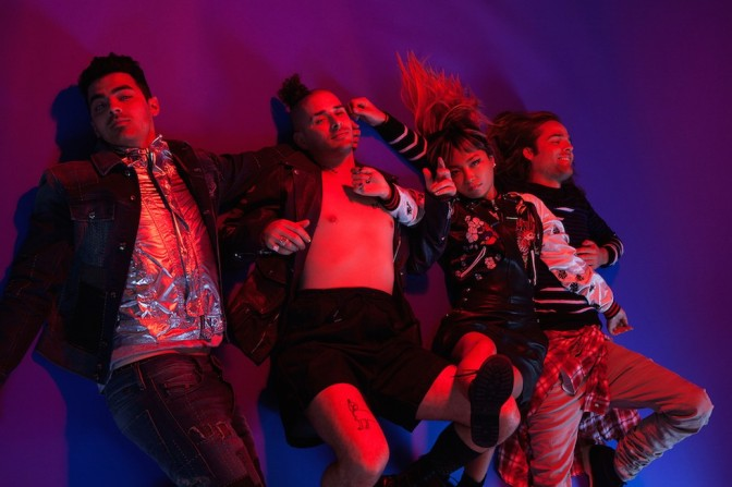 DNCE With Paper Magazine