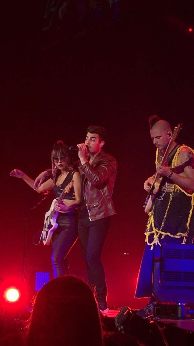 DNCE Performing in Miami