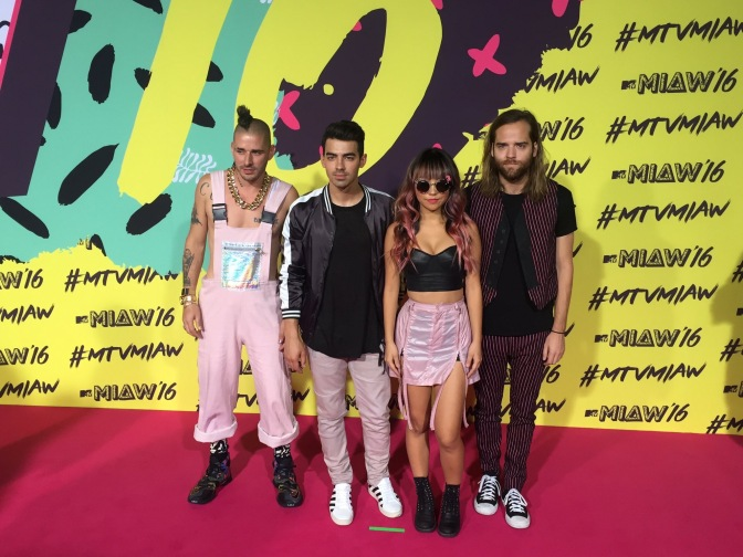 DNCE at MTV MIAW Awards