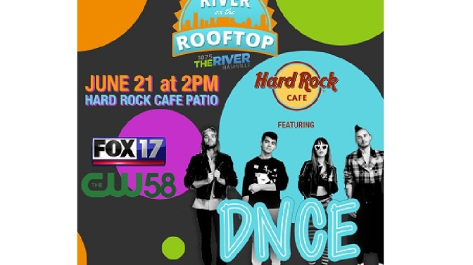 DNCE to Perform at River on the Rooftop