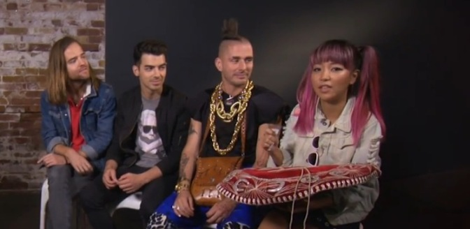 DNCE Play the Hat Game