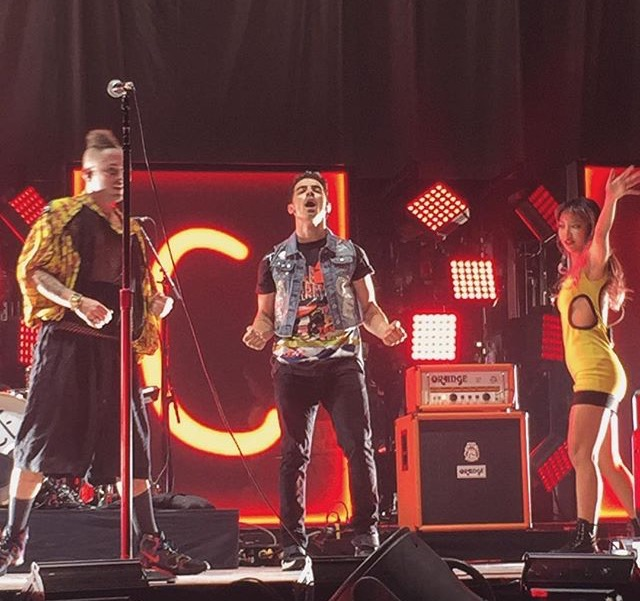 DNCE Performing in New Orleans