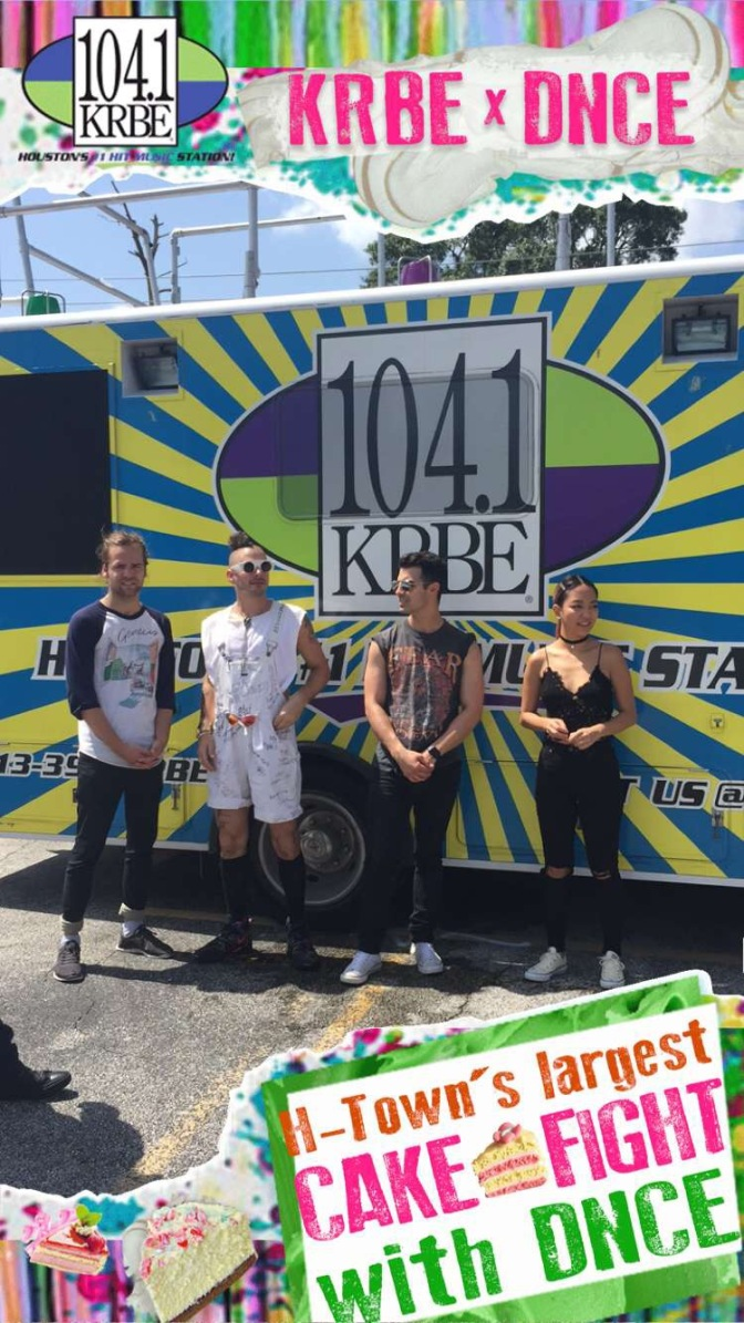 DNCE's Cake Fight with KRBE