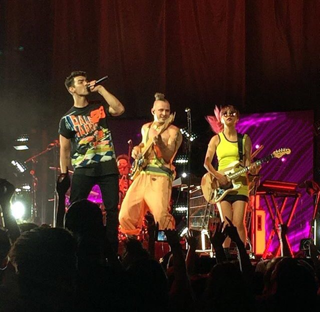 DNCE Performing in Nashville