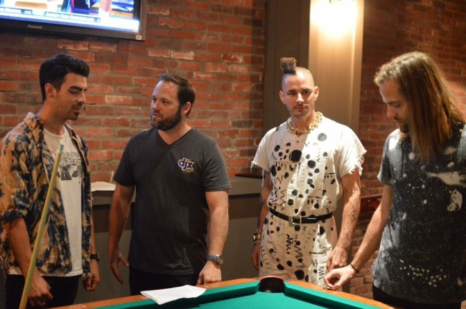 DNCE Bowling and Playing Pool With 99.7 DJX
