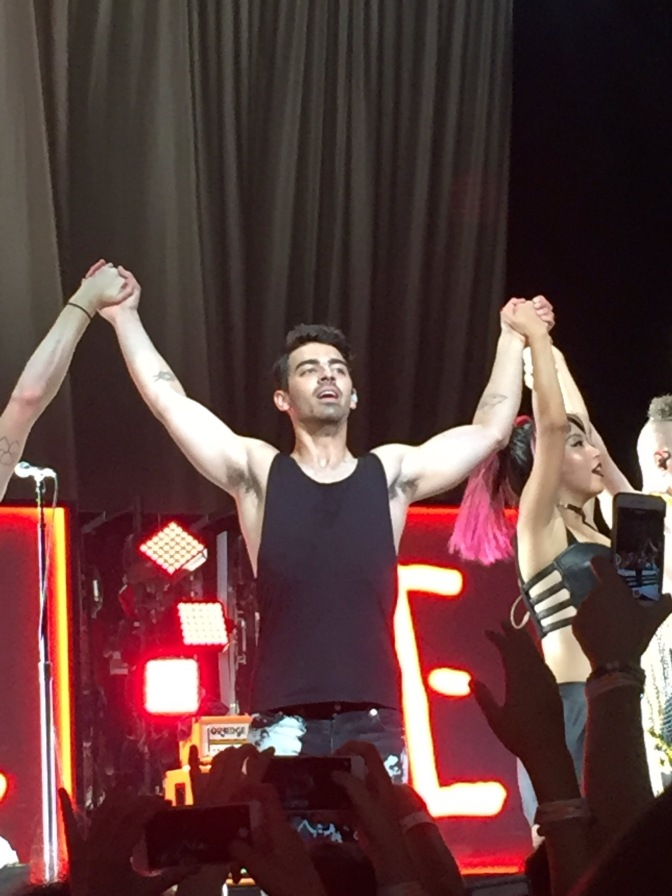DNCE Performing In Louisville