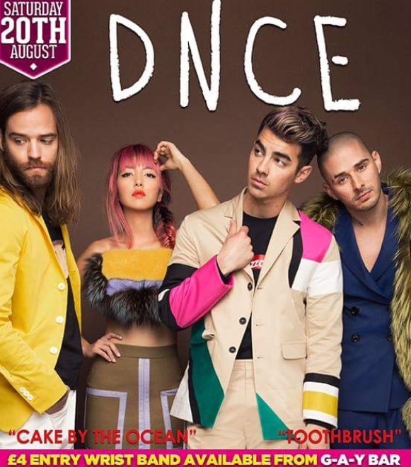 DNCE to Perform at G-A-Y Nightclub
